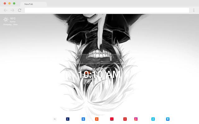 Anime New Tab HD Wallpapers Popular Theme