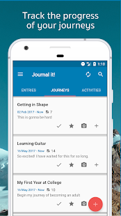 Journal it! - Bullet Journal, Diary, Cloud Journal - náhled