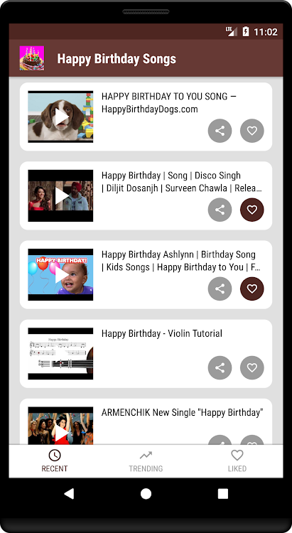 Happy Birthday Songs – (Android Apps) — AppAgg