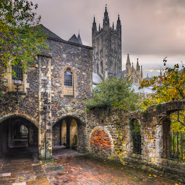 Canterbury Cathedral by Krasimir Lazarov - Buildings & Architecture Places of Worship ( kent, united kingdom, place of worship, canterbury, cathedral, building, architecture )