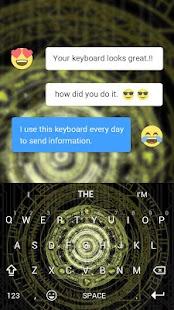 3D Magic Keyboard Theme - náhled