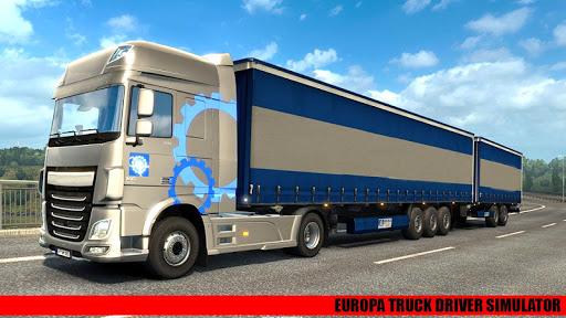Code Triche Europa Real Trucks Simulator 19 : Truck Drivers APK MOD screenshots 3
