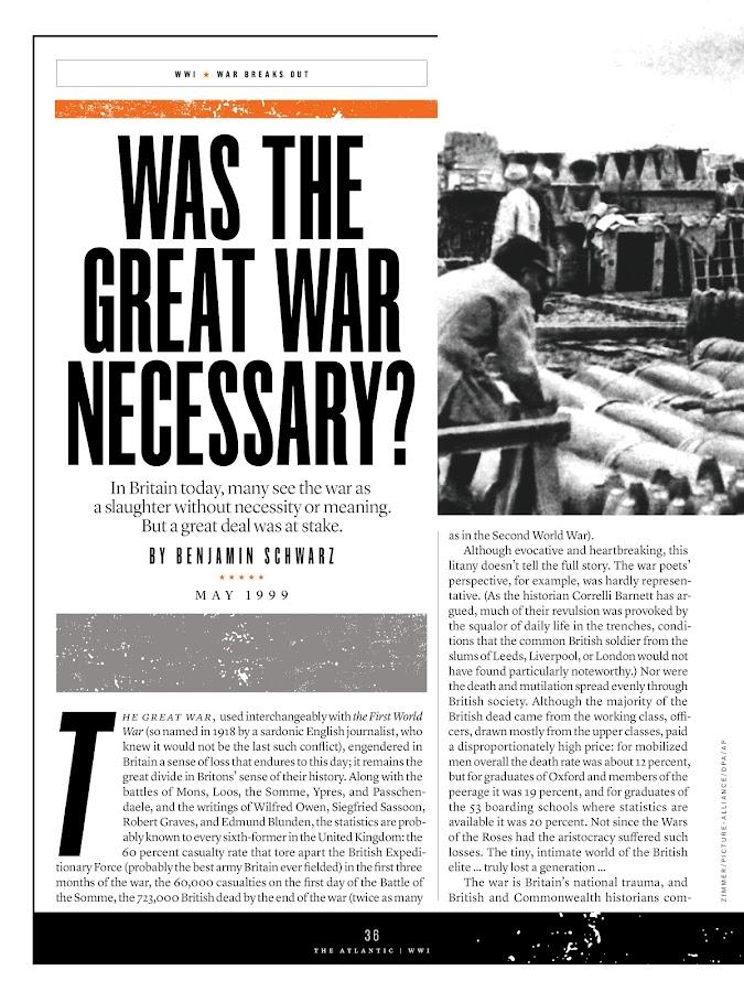 World War I: How the Great War Made the Modern World- screenshot