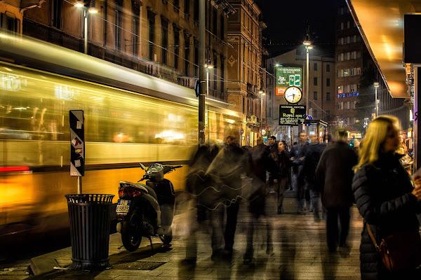 Una città in veloce movimento di Sergio Locatelli