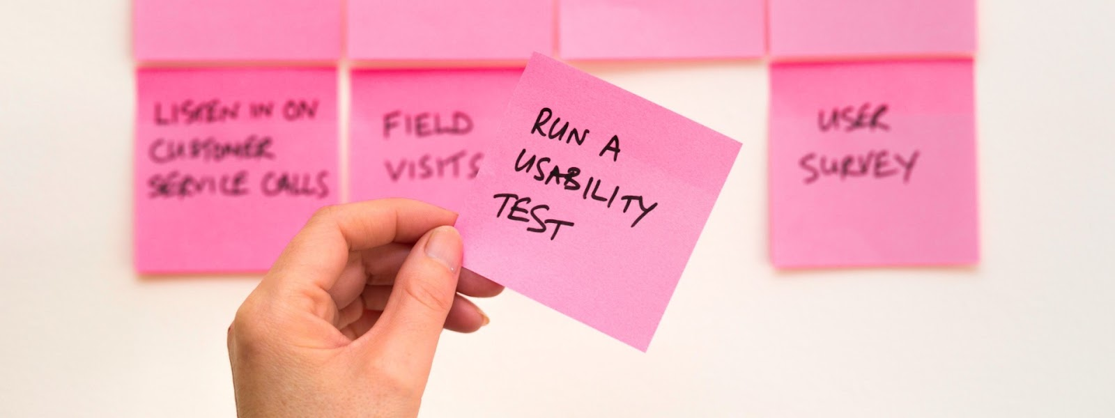 run tests to see if your idea works