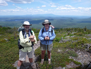 Photo: Atop White Cap Mtn. with Katahdin in the background