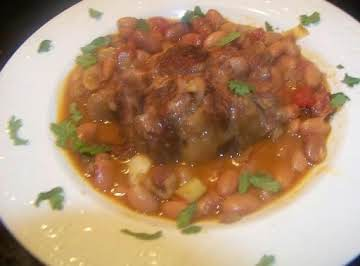 Southwestern Red Beans & Oxtails