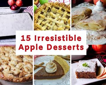 15 Irresistible Apple Desserts Recipe