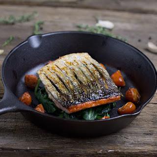 Crispy Skin Salmon With Recipes