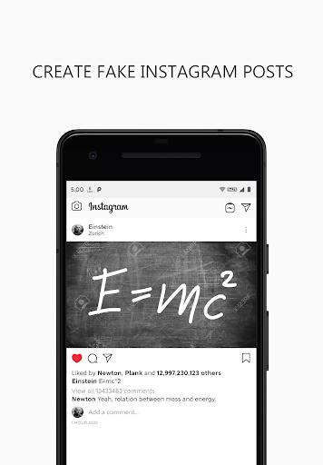 Fake instagram chat apk