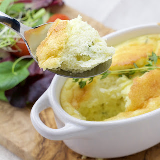 Cheese and Thyme Soufflé