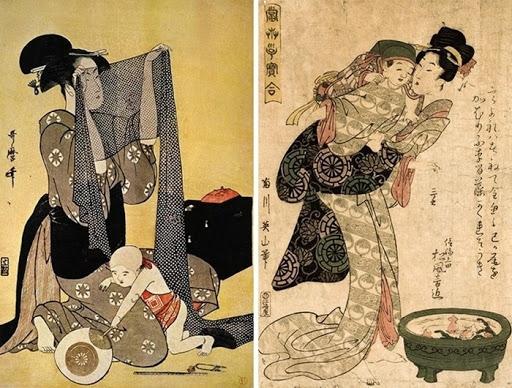 Cha mẹ Nhật có những quy tắc nuôi dạy con từ khi chúng mới lọt lòng để xây dựng nhân cách tốt từ sớm cho trẻ.