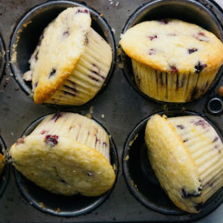 Summer Berry Buttermilk Muffins