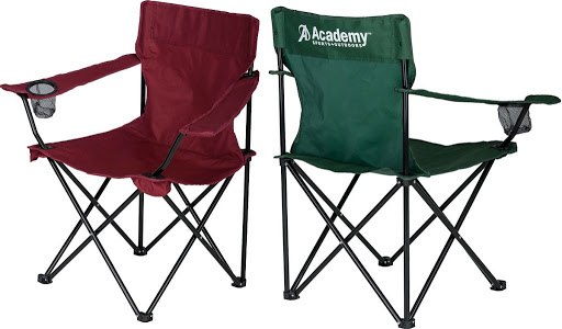 Academy Sports Folding Camping Chairs Just $4.99 | Great for Sporting Events, BBQs, & Tailgating