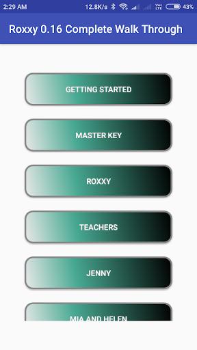 Roxxy 0.16 Complete Walk Through 1.0 screenshots 2