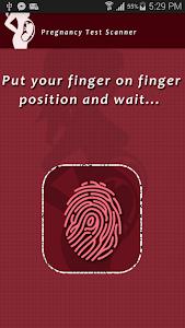 Pregnancy Test Scanner Prank screenshot 0