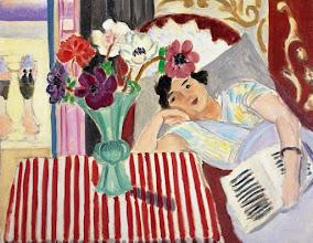 "Photo: Matisse, ""Donna e anemoni"" (1920)"