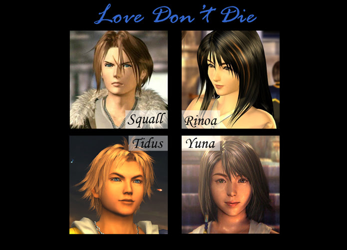 Story Final Fantasy Viii X Love Dont Die Squallrinoa Tidus