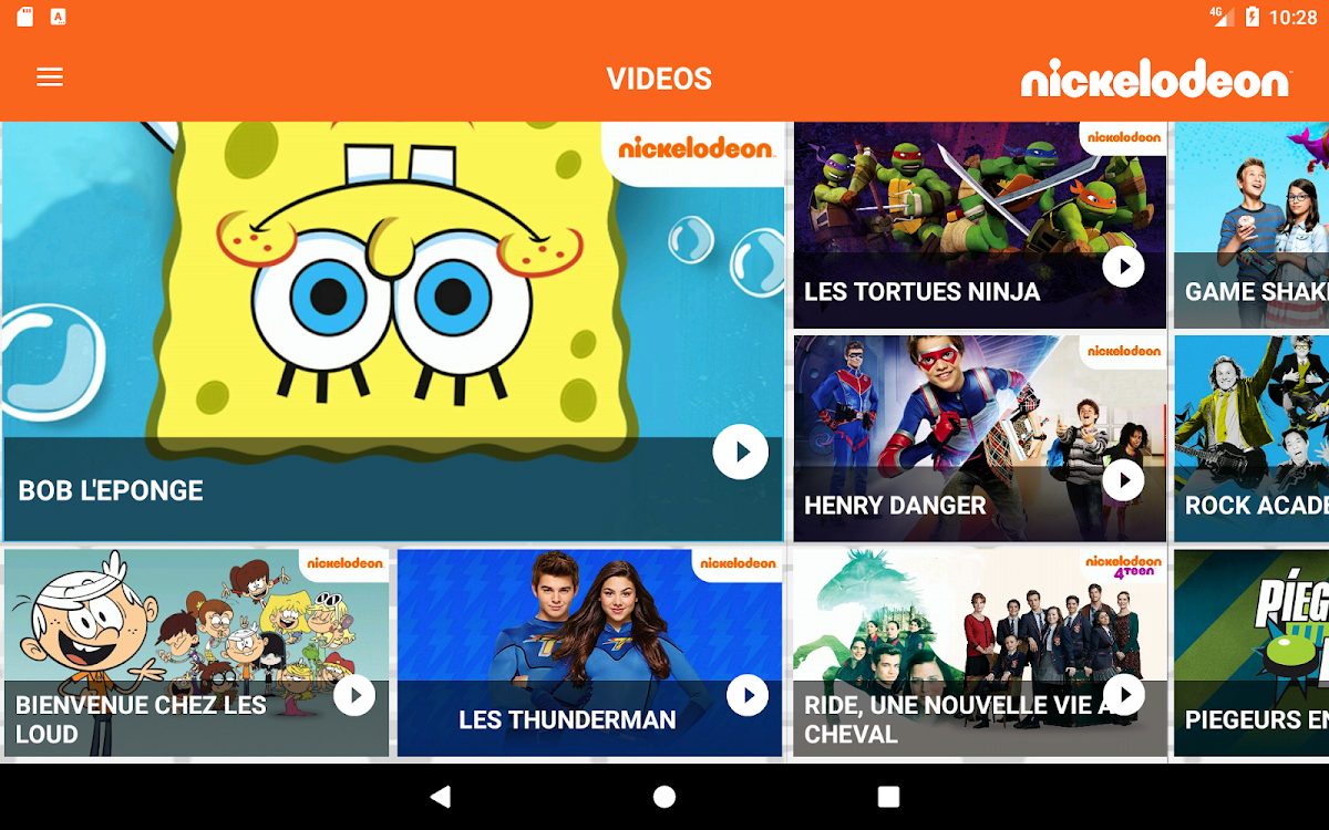 Nickelodeon Android Apps Appagg