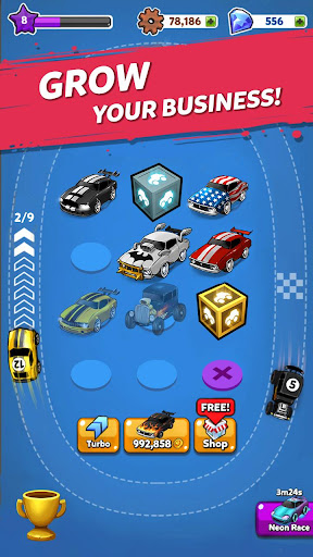 Merge Muscle Car: Classic American Muscle Merger apkpoly screenshots 11