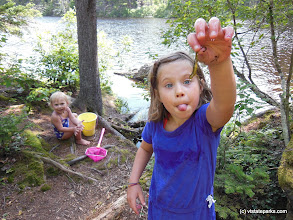 Photo: Kids and nature at Woodford State Park