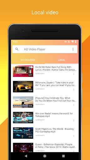 HD Video Player - Free Online Video, All Format 1.0.4 screenshots 5
