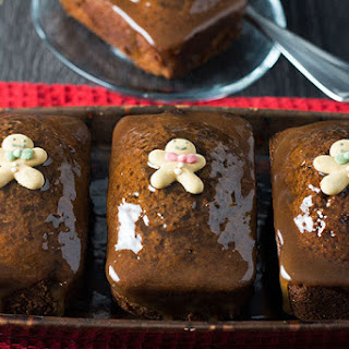 Sticky Toffee Ginger Cakes.
