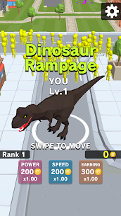 Dinosaur Rampage (MOD, Unlimited Money, Unlocked All Skins) 1