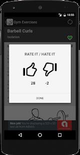 Gym Exercises screenshot