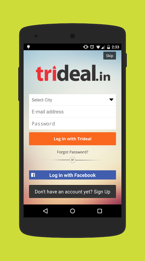 Trideal.in- screenshot