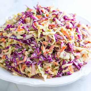 Seriously Good Homemade Coleslaw.