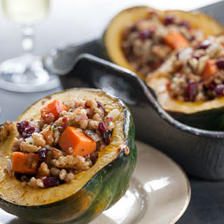 Apple Stuffed Acorn Squash Vegetarian Recipes