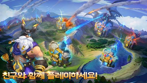 Castle Clash: uc6a9ub9f9ud55c ubd80ub300  screenshots 5