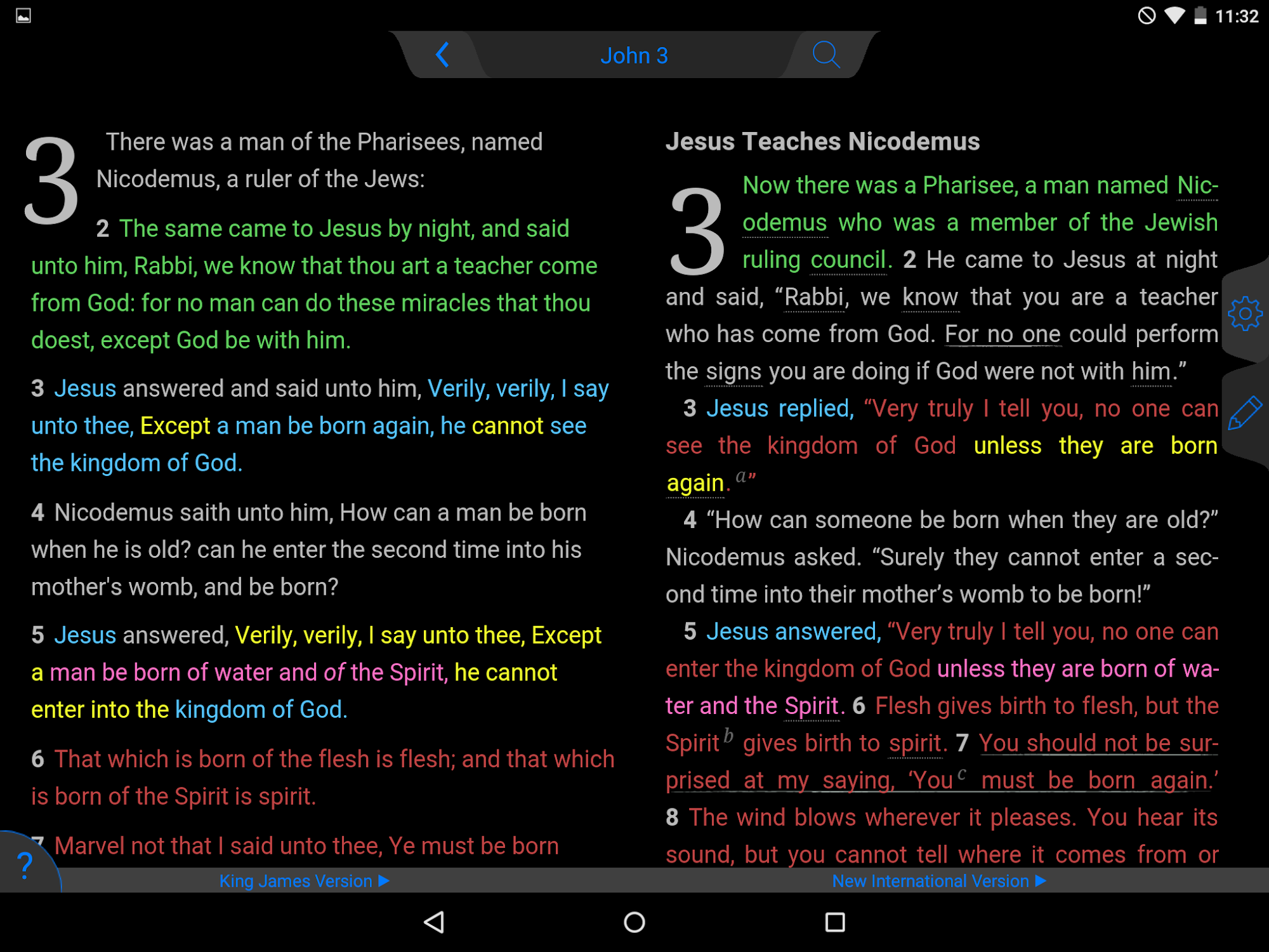 ESV Bible screenshot #13