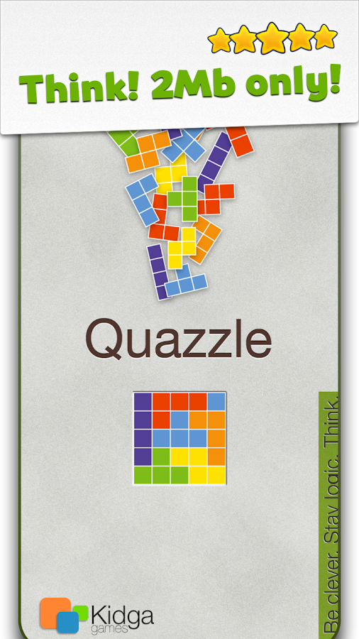 Quazzle Blocks- screenshot