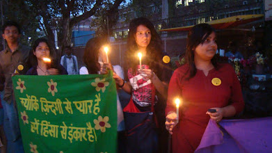 Photo: 3.24.12 rally in Delhi, India
