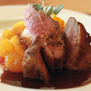 BALSAMIC DUCK BREAST with Fruits in Mustard