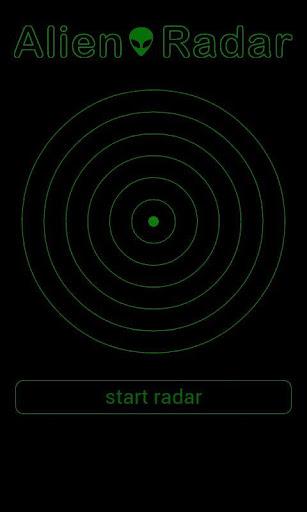Alien Radar Simulation