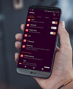 Ubuntu Theme LG V20 G5 G6 V30 Screenshot