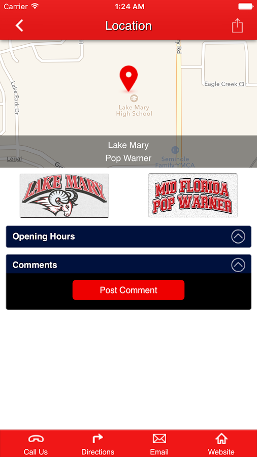 Lake Mary Rams- screenshot
