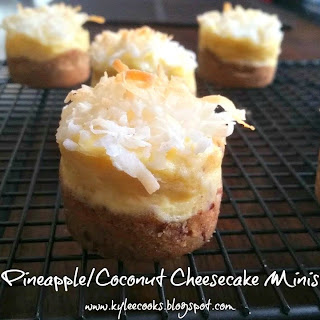 Pineapple/Coconut Cheesecake (Minis)