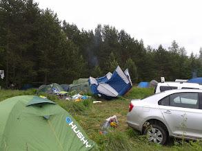 Photo: Такой большой ветер напал на наш лагерь