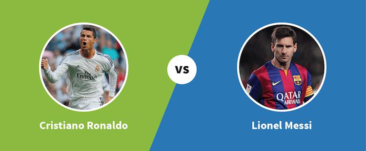 Ronaldo vs. Messi - Paylab blog