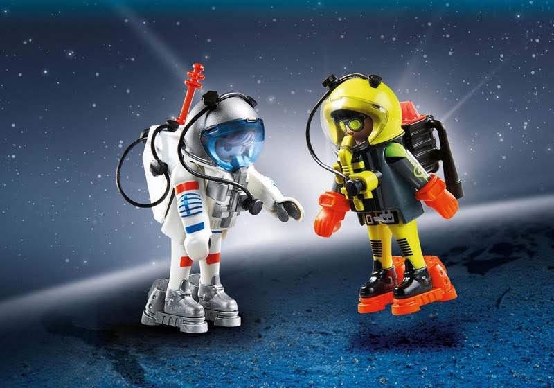 Contenido real de Playmobil® 9448 Duo Pack Astronautas