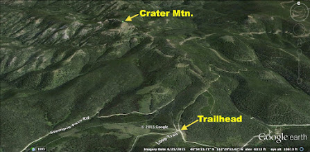 Photo: Hike from Stemple Pass to Crater Mountain