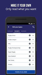 Rugby News & Live Scores - SF- screenshot thumbnail