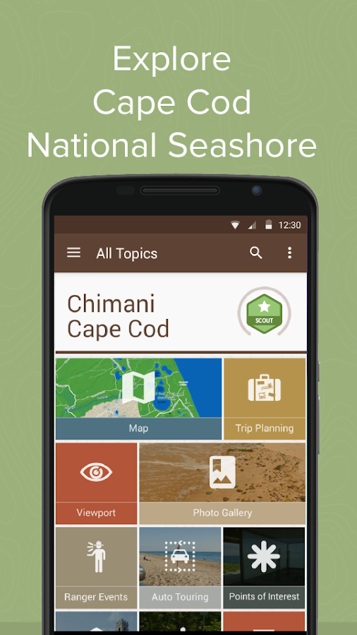 Chimani Cape Cod Ntl Seashore - screenshot