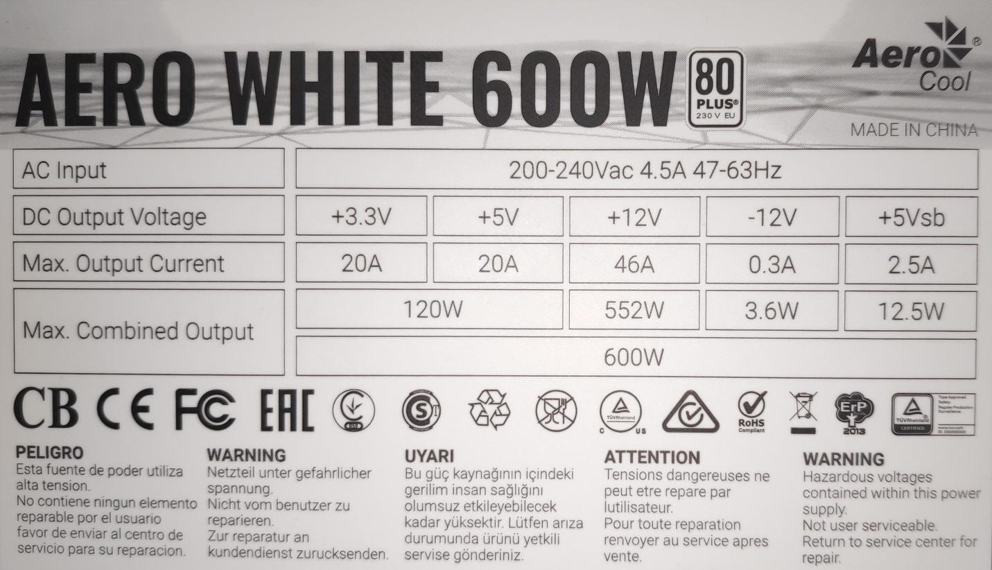 I:\Google Drive\Тесты железа\Обзор блока питания Aerocool Aero White 600W\ТТХ.JPG