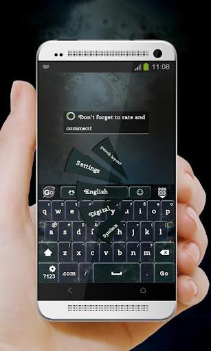 玩個人化App|ロマンチックフラクタル GO Keyboard免費|APP試玩