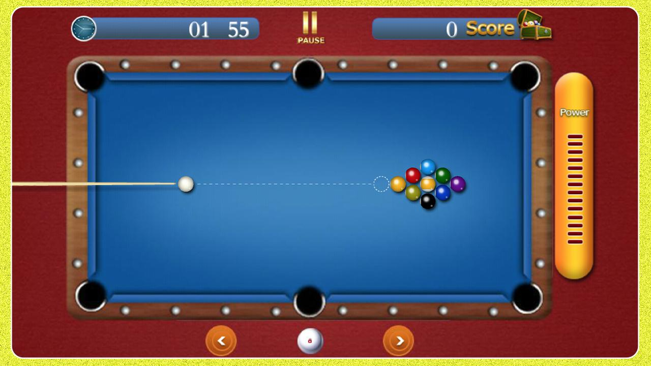 free pool table games